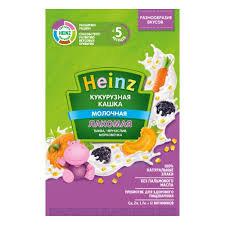 Каша Кукурузная молочная лакомая тыква/чернослив/морковь 170гр м/у Heinz *