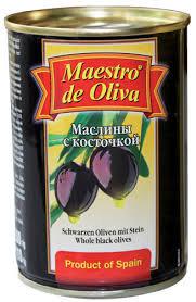Маслины с/к 280г  Maestro de Oliva*