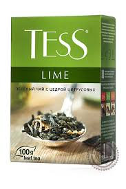 Чай Tess Lime green100г.*