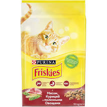 FRIS мяс. овощи корм для кошек 1кг *