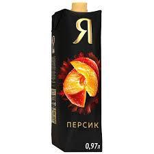 Нектар Я Персиковый с мякотью 0.97л*