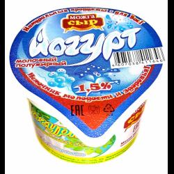 Йогурт диетич. 1.5% 150г бзмж пл/ст Можга-сыр