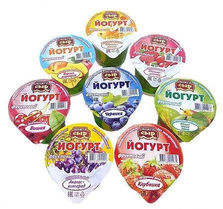 Йогурт фруктов. клубника 2.5% 150г бзмж пл/ст Можга-сыр