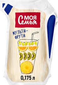 Моя Семья  напиток сокосод./мультифрут/ 0.175 л