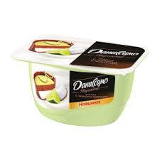 Йогурт Даниссимо Фантазия с хруст. шариками лайм/кокос 6.9% 105г БЗМЖ