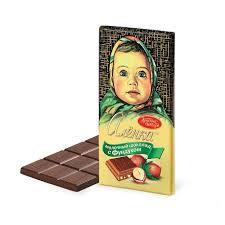 Шоколад АЛЕНКА фундук 90г/100г