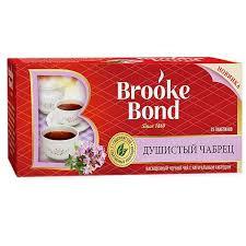 Чай Brooke Bond насыщ. черн. с чабрецом 25*1.8г *