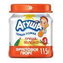 Пюре фруктовое груша 115гр  ст/б Агуша *