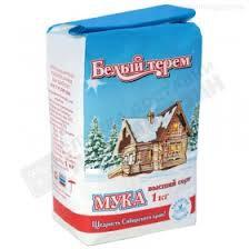Мука в/с Белый терем 1кг Омск