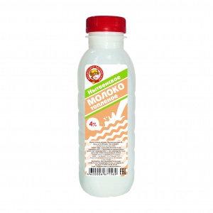 Молоко топл. 4% бзмж 0.4л пэт/бут Нытва