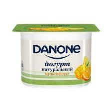 Данон йогурт нат.2.9% 110гМультифрукт (апельсин/манго/ананас)