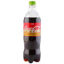 Кока-кола лайм пл/ б 0.9л*
