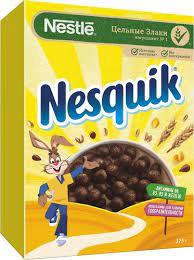 Готовый завтрак NESTLE шоколадный 375г.