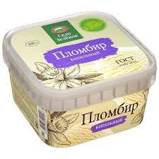 СЗ Мороженое Пломбир с аром. ванили 15% 280гр конт.Милком*