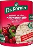 Хлебцы Dг.Korner ЗЛАКОВЫЙ КОКТЕЙЛЬ клюквенный  100г