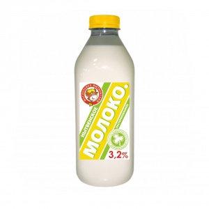 Молоко 3.2% бзмж 0.9л (0.927кг) пэт/бут Нытва