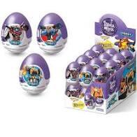Шоколадное яйцо с игрушкой 20г Шоки-Токи в ассорт