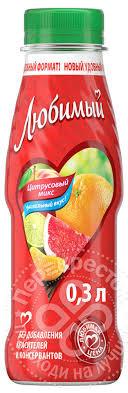 Напиток сокосодержащий Цитрусовый микс 0.3л п/б