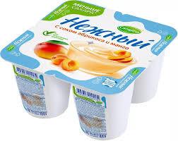 Йогуртный продукт Нежный с соком абрикос и манго 1.2% бзмж 100г  Campina