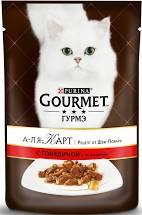 Gourmet Перл нежное филе в соусе с курицей 85г м/у