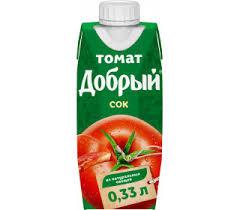 Сок Томат 0.33л Добрый 0.33л *