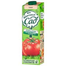 Фруктовый сад сок томатный с солью 0.95л *
