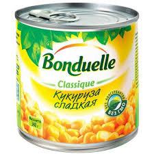 Кукуруза 340г ж/б Bonduelle *