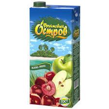 Напиток ФРУКТОВЫЙ ОСТРОВ Яблоко/вишня 0.2л т/п