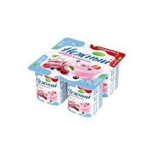 Йогуртный продукт Нежный ягодное мороженое1.2% бзмж 100г  Campina