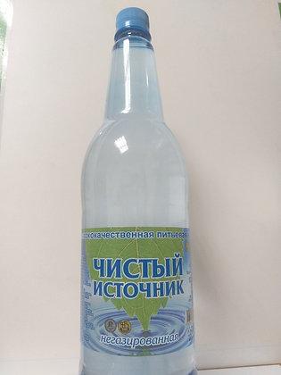 Вода газ. Чистый источник 1.3л пэт Гамбринус  *