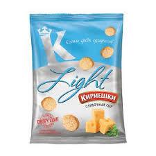 Сухарики Кириешки ЛАЙТ 33г сливочный сыр