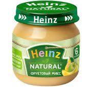 Пюре Heinz  80гр ст.б. (фруктовый микс)*