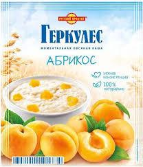 Геркулес моментальная овсяная каша Абрикос 35г Русский продукт