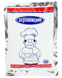 Дрожжи Воронежские 100г м/у
