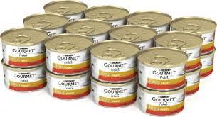 Gourmet Голд с кроликом и печенью 85г ж/б *