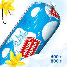 Мороженое вес. Наша марка с ЗМЖ 800г Русский холод *