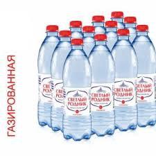 Вода питьевая газ. Светлый Родник  0.6л п/б Очёр *