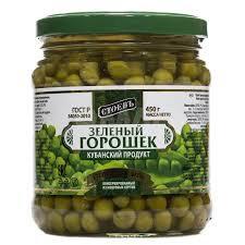 Горошек зеленй 450г ст/б твист Стоевъ *