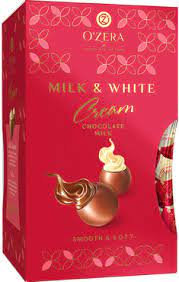 Конфеты O Zera Milk & White 200г
