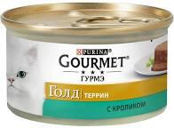 Gourmet Голд террин с кроликом 85г ж/б *