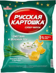50г Чипсы карт. Русская картошка /сметана лук м/у