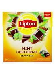 Чай Lipton шоколад/мята 20пир.*1.8г.*
