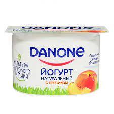 Данон йогурт нат.2.9% 110г Персик