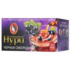 Чай Принцесса Нури черн.  с фр/яг аром. в ассорт 25п*1.5г