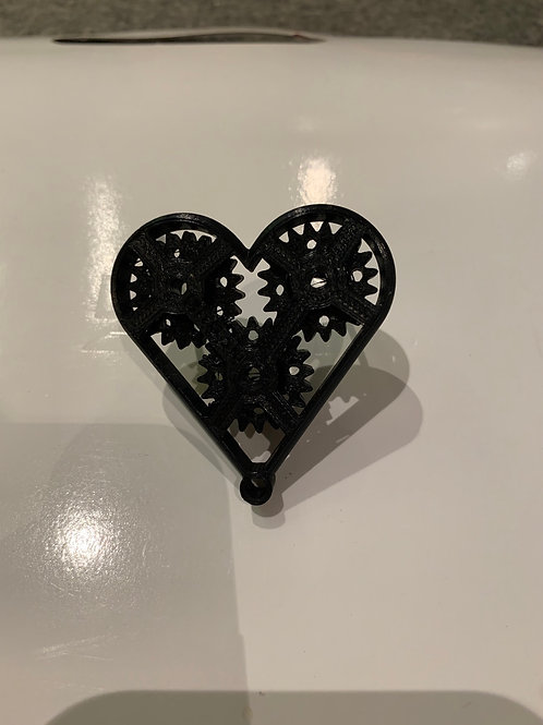 3D Printed moving love heart