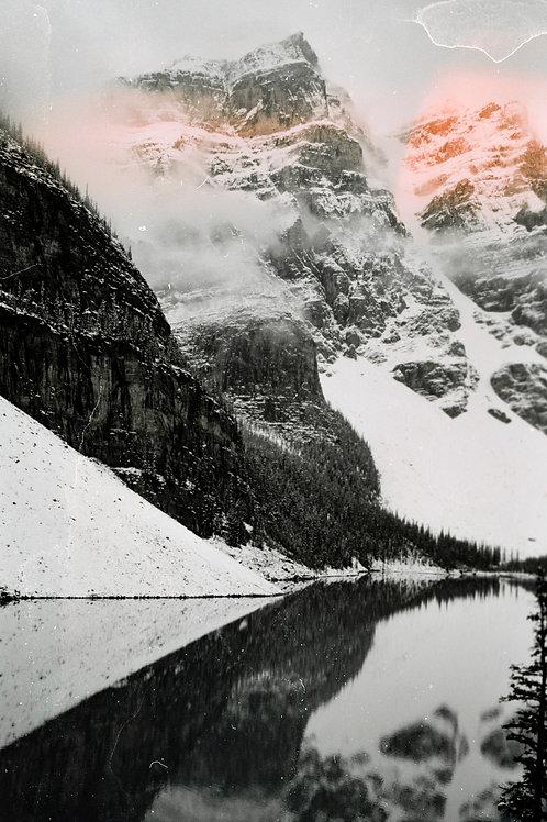 A Bad Photo of Moraine Lake