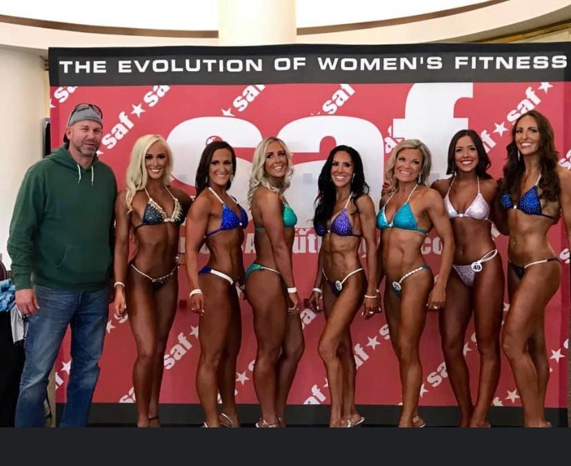 Pro Bikini, Open Athletic, Open Fitness Competitors