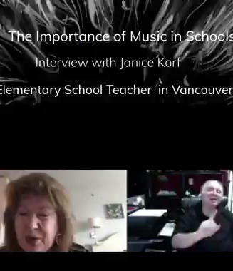 Janice Korf is a teacher in Vancouver with years of experience teaching music to all ages
