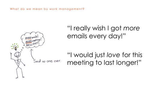 More emails and meetings!
