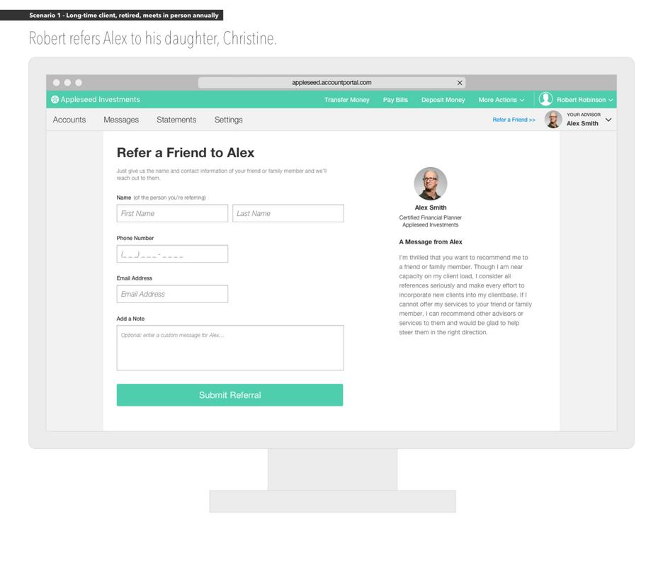 Client Portal: Referrals
